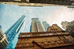 Manhattan, New York City. View of Manhattan, New York City stock image