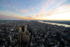 Manhattan in New York City Royalty Free Stock Photography
