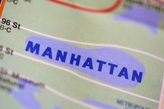 Manhattan New York, Förenta staterna Royaltyfri Foto