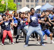 13th Annual New York City Dance Parade and Festival 2019 royalty free stock images