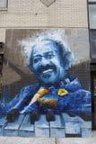 Manhattan - New york - Old street art. Old street art from New york - Chinatown Stock Image