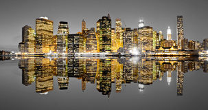 Manhattan, New York. U.S.A. Fotografie Stock