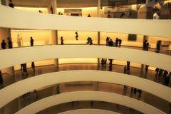 Manhattan, New York, U.S.A., 07 19 2017: il museo Guggenheim dentro al Central Park Immagini Stock Libere da Diritti