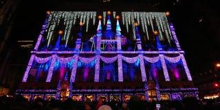 Manhattan, New York, USA, Weihnachtszeit lizenzfreie stockfotos