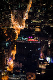 Manhattan by night Royalty Free Stock Photography