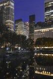 Manhattan at night, New York City Royalty Free Stock Image