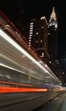 Manhattan at night. Stock Image