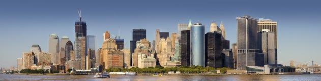 Manhattan niska Linia horyzontu Fotografia Royalty Free