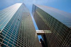 Manhattan nowoczesnej architektury Zdjęcia Royalty Free
