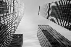 Manhattan nowoczesnej architektury Obrazy Royalty Free