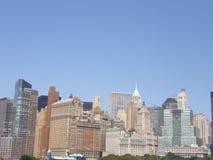 Manhattan, nowy jork miasto Obraz Stock