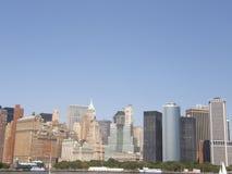 Manhattan, nowy jork miasto Zdjęcia Stock