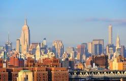 Manhattan, nowy jork miasto Obrazy Royalty Free
