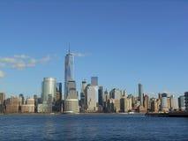 Manhattan, Nowy Jork, Waszyngtoński usa, Bożenarodzeniowy czas obraz royalty free