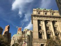 Manhattan Nueva York Imagen de archivo libre de regalías