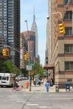 Manhattan, Nueva York, los E Fotografía de archivo
