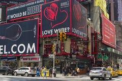 Manhattan, Nueva York Séptima avenida Fotografía de archivo