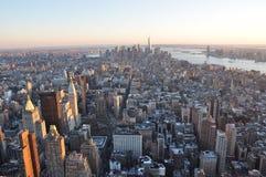 Manhattan nuevo Jork fotos de archivo libres de regalías