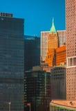 Manhattan NY Arkivfoton