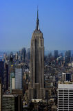 manhattan ny horisont york Arkivfoto