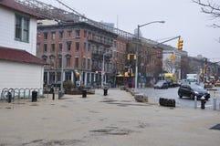 Manhattan nya Jork byggnader Royaltyfri Fotografi