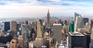 manhattan nya USA york Arkivfoto