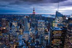 manhattan nya USA york Royaltyfria Foton