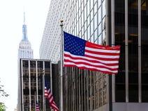 Manhattan 8o avoirdupois New York City E.U. Fotos de Stock