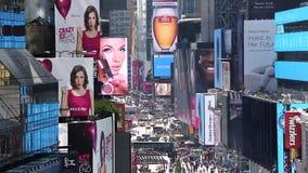 Manhattan occupata New York video d archivio