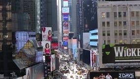Manhattan ocupada Nueva York almacen de metraje de vídeo