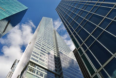 Manhattan Office buildings Royalty Free Stock Photography