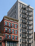 Manhattan, older buildings Royalty Free Stock Images