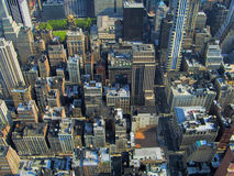 Manhattan overview stock images
