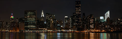 Manhattan panorama Stock Photography