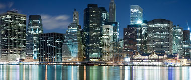 Manhattan panorama Royalty Free Stock Photo