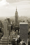 Manhattan panorama Stock Photos