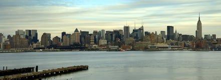 Manhattan-Panorama Lizenzfreie Stockfotografie