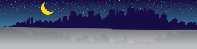 manhattan panorama Obrazy Royalty Free