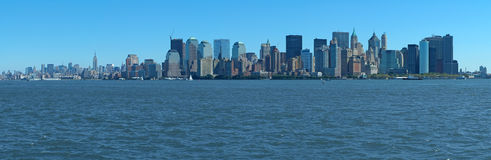 Manhattan panorama Stock Image