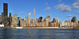 Manhattan panorama. Stock Images