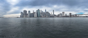 Manhattan Panorama New York City Stock Photography