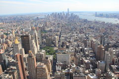 Manhattan panorama, New York USA Royalty Free Stock Image
