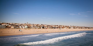Manhattan plaża Obraz Royalty Free