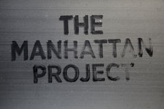 The Manhattan Project Stock Photos