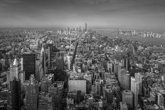 Manhattan Przegląda NYC Zdjęcia Stock