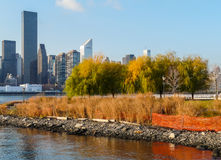 Manhattan from Queens Stock Photography