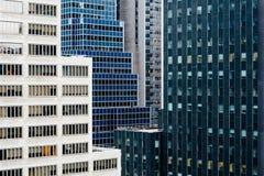 Manhattan real estate Stock Images