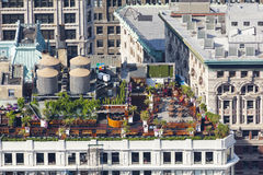 Manhattan Rooftop Gardens, editorial Royalty Free Stock Image