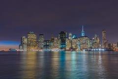 Manhattan`s Financial district, NYC Stock Photos