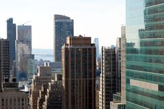 Among Manhattan's Skyscrapers 1 Stock Image